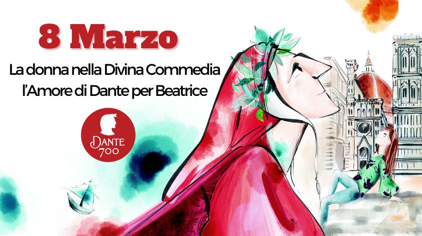 La donna nella Divina Commedia e l'Amore di Dante per Beatrice