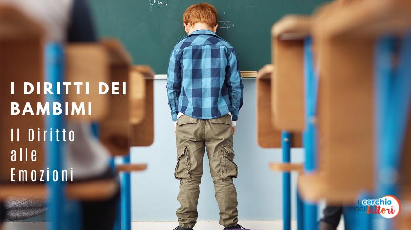 I diritti dei bambini: il diritto alle emozioni
